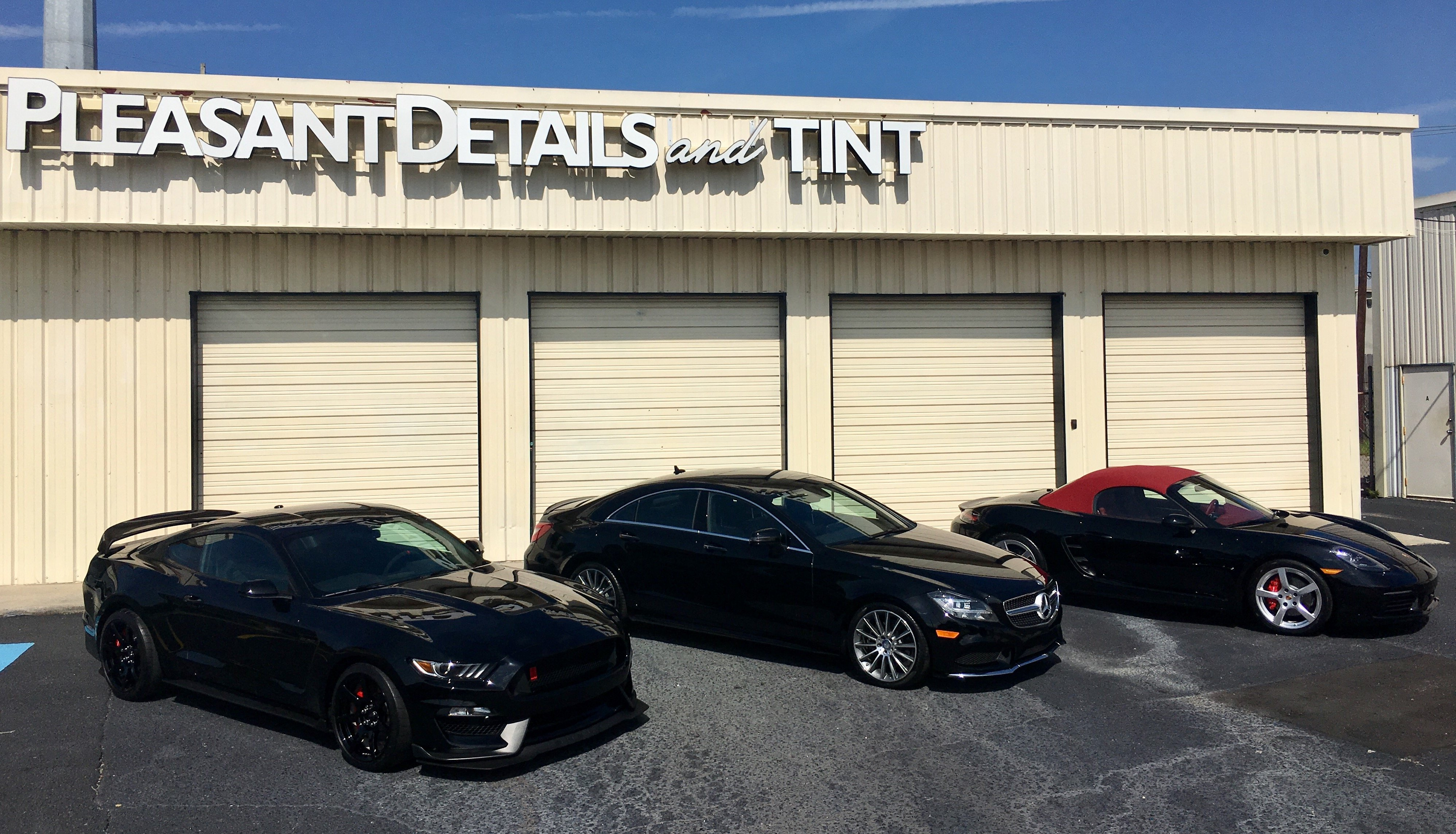 Come visit Pleasant Details and Tint's new location!